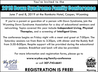 Down Syndrome Family Conference