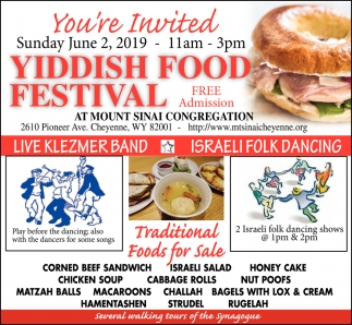 Yiddish Food Festival