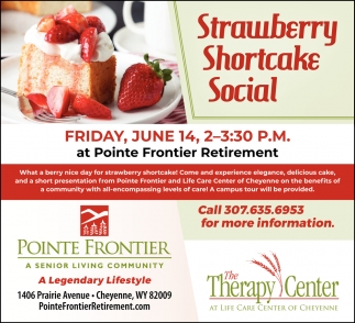 Strawberry Shortcake Social