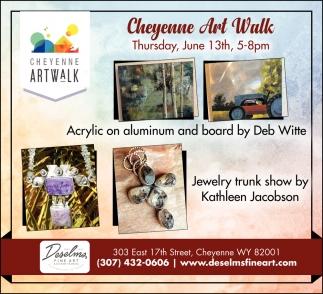 Cheyenne Art Walk