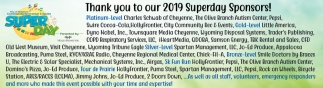 Thank You to Our 2019 Superday Sponsors
