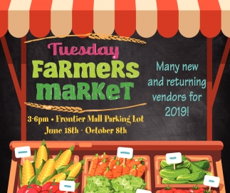 Many New and Returning Vendors for 2019