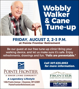 Wobbly Walker & Cane Tune-Up