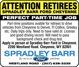 Attention Retirees