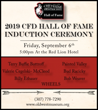 2019 CFD Hall of Fame