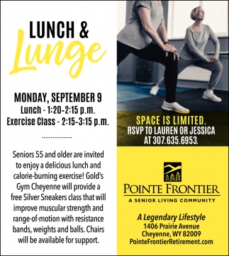 Lunch & Lunge
