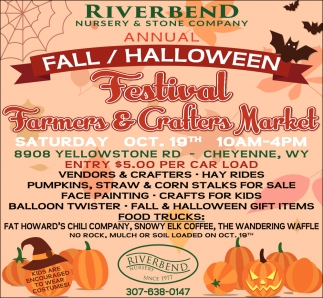Fall / Halloween Festival Farmers & Crafters Market