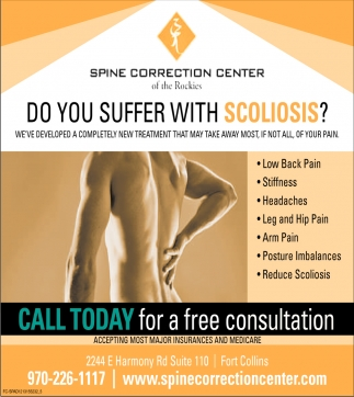 Do You Suffer with Scoliosis?