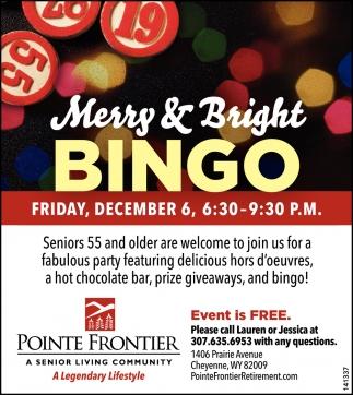 Merry & Bright Bingo