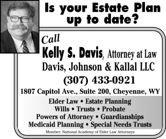 Is Your  Estate Plan Up To Date?