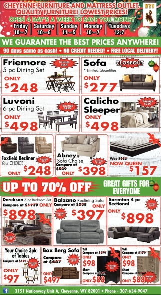 We Guarantee the Best Prices Anywhere!