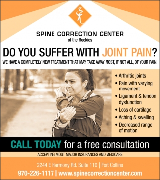 Do You Suffer with Joint Pain?