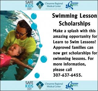 Swimming Lesson Scholarships