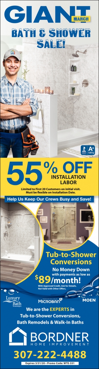 Help Us Keep Our Crews Busy and Save!