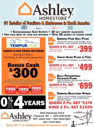 #1 Retailer Of Furniture , Ashley Homestore, Cheyenne, WY