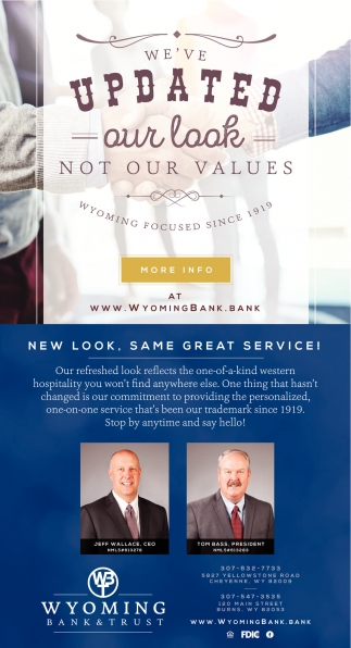 We've Updated our Look not our Values