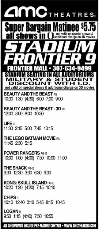 Super Bargain Matinee