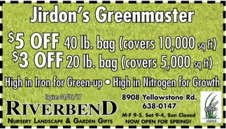 Jirdon's Greenmaster